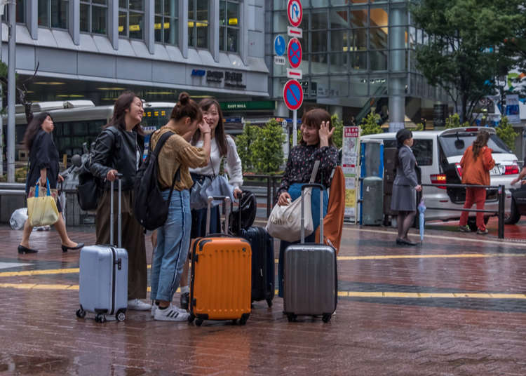 Tokyo's Secret Coin Locker Spots: Big Enough for Suitcases!