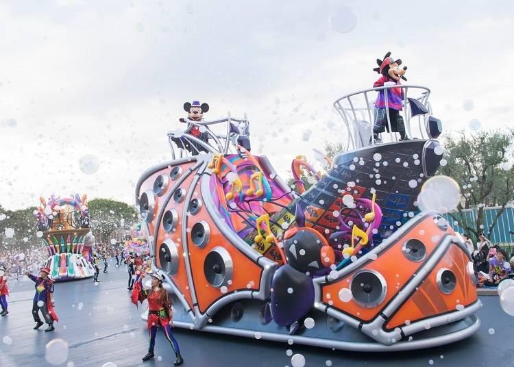 สนุกไปกับเทศกาลดนตรีสุดมันส์ที่โตเกียวดีสนีย์แลนด์