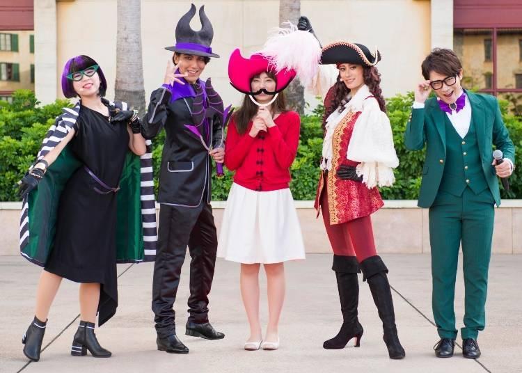 ฮาโลวีนปาร์ตี้ของเหล่าวายร้ายดิสนีย์ (Villains Halloween Party)