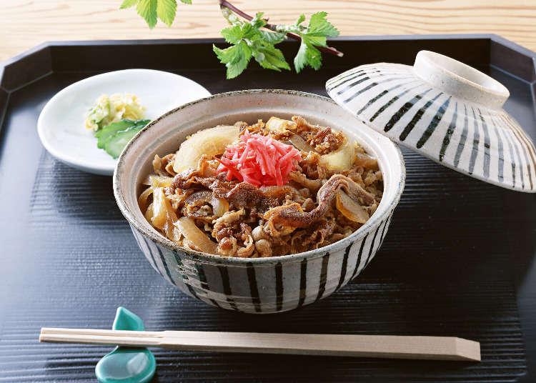 叫我第一名!日本人票選出的牛丼No.1是..........