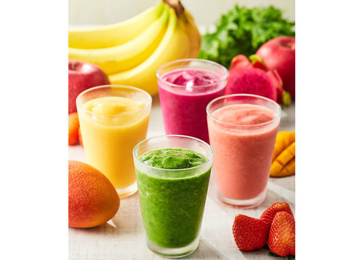 [Echika Ikebukuro] Freshness Burger's Colorful Smoothies Are Sure to Keep You Cool
