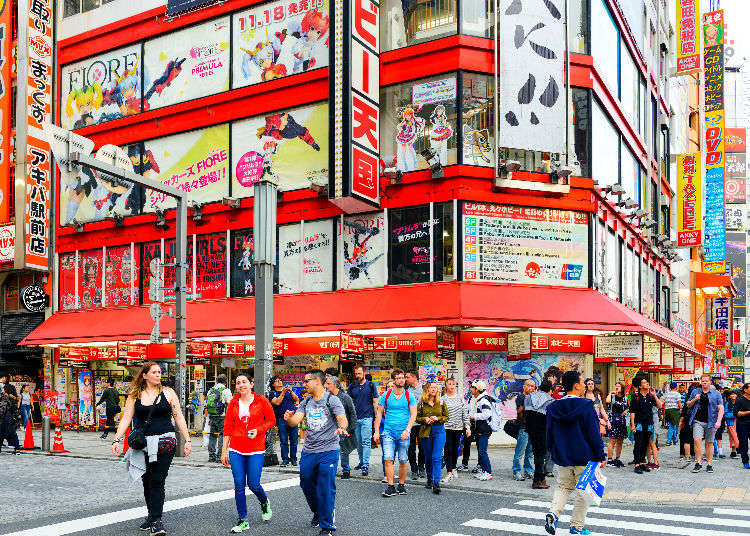 Akihabara Adventure: The 18 Best Spots to Fully Experience Japan's Otaku Culture