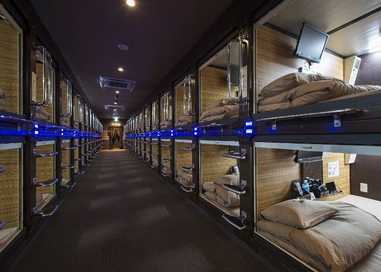 Capsule Hotel Anshin Oyado Shinjuku: Safety, Comfort, and Very Reasonable Prices!