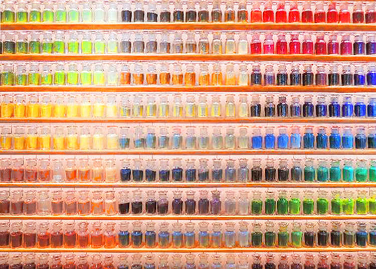 The Beautiful World Of PIGMENT Colors And Art Supplies Made From Traditional Materials