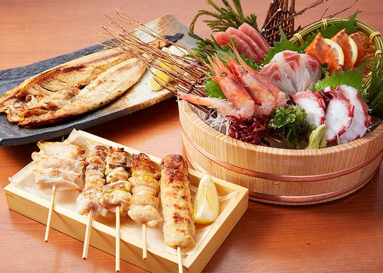 【上野駅近】あらゆるお酒とあらゆる料理がそろう! 居酒屋ワンダーランド