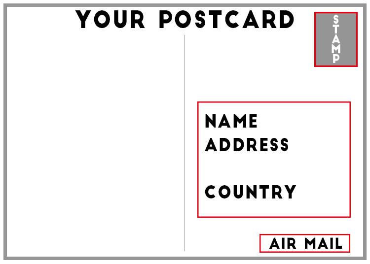 how do i write the address