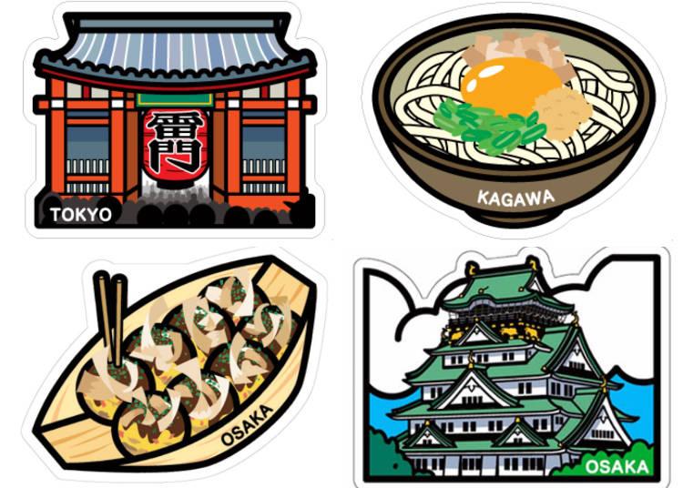 同場加映:可愛又富有地方特色的日本郵局限定明信片