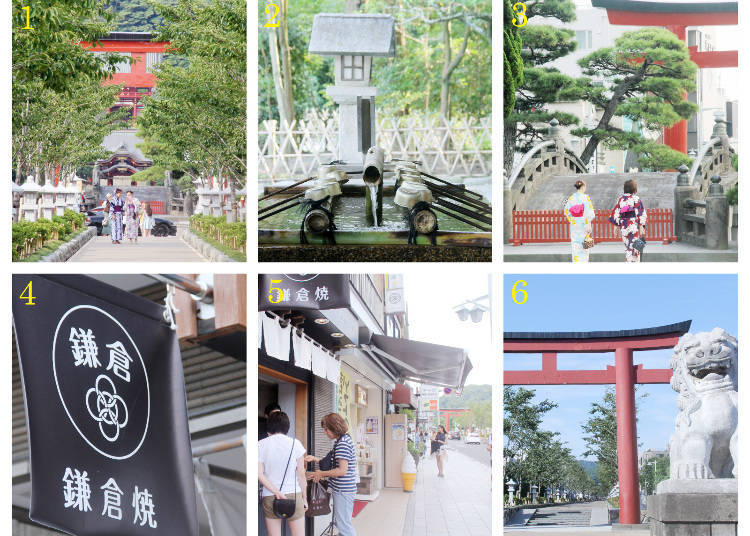 The Sightseeing-While-Snacking Route Part 2: Tsurugaoka Hachimangu Shrine → Wakamiya Oji Street → Kamakura Station