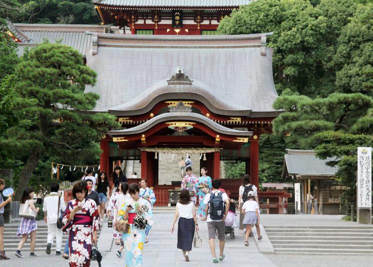 鐮倉的代表性古老神社「鶴岡八幡宮」