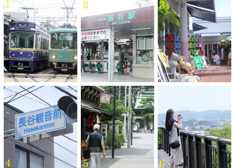 The Sightseeing Route Part 1: Hase Station → Hase-dera Temple