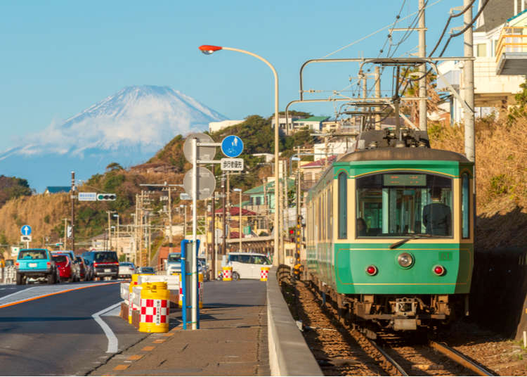 江ノ電散歩3 ~長谷駅から極楽寺駅へ~ 海岸の街に点在する名物カフェと寺を巡る