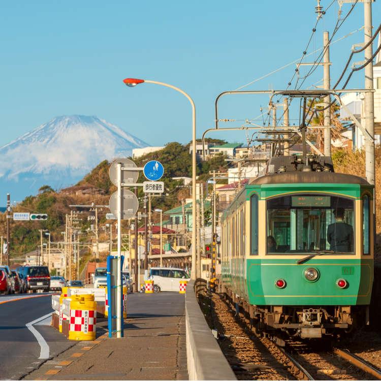 看海喝咖啡&寺院巡禮!鄰海電鐵江之電輕旅行「長谷站下篇」