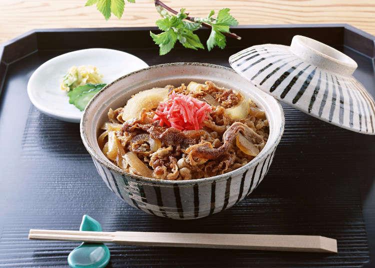 일본요리의 간편식하면 바로 규동!! 그에 대한 현지인의 반응조사