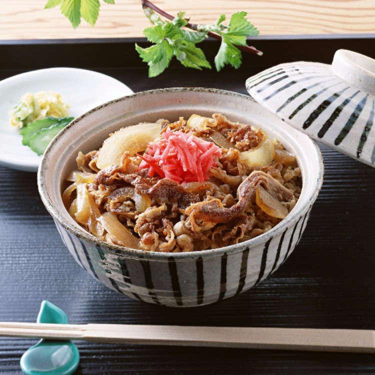 규동은 일본에서 인기있는 음식?