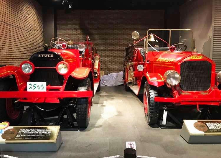家族みんなで楽しめる!消防博物館