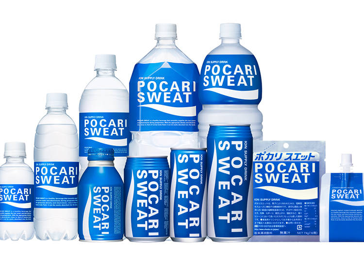3) Pocari Sweat