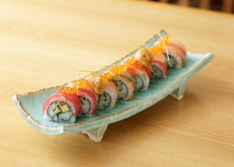 【手巻き寿司】和食×フレンチのコラボレーション「しゃりパティシェ」/函館
