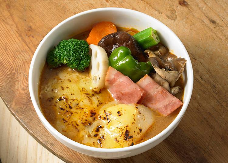 【スープカレー】ピリ辛×マイルドのおいしい共演!「ビストロ 南家」/札幌市