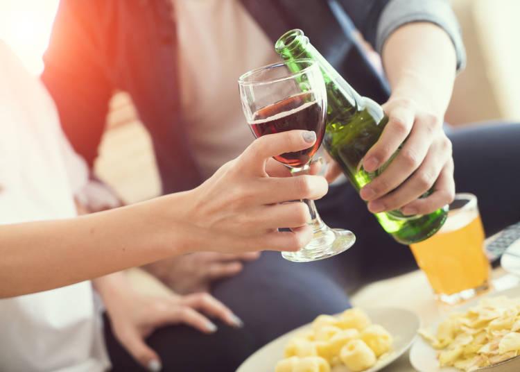 5:食事で違う種類のお酒を飲むことが信じられなかった!イタリア人はそんなことしないよ
