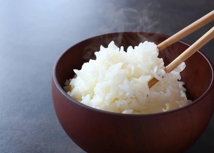 熱愛米飯的日本人