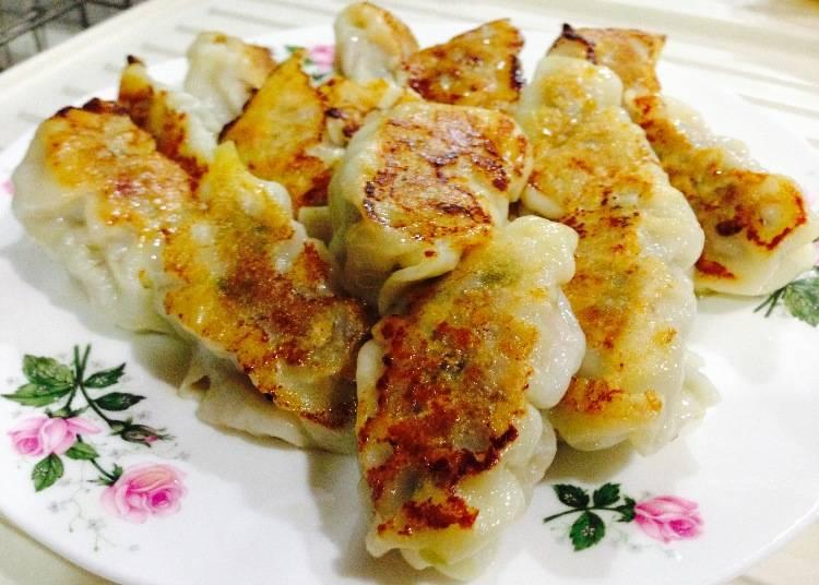 煎餃配白飯最美味