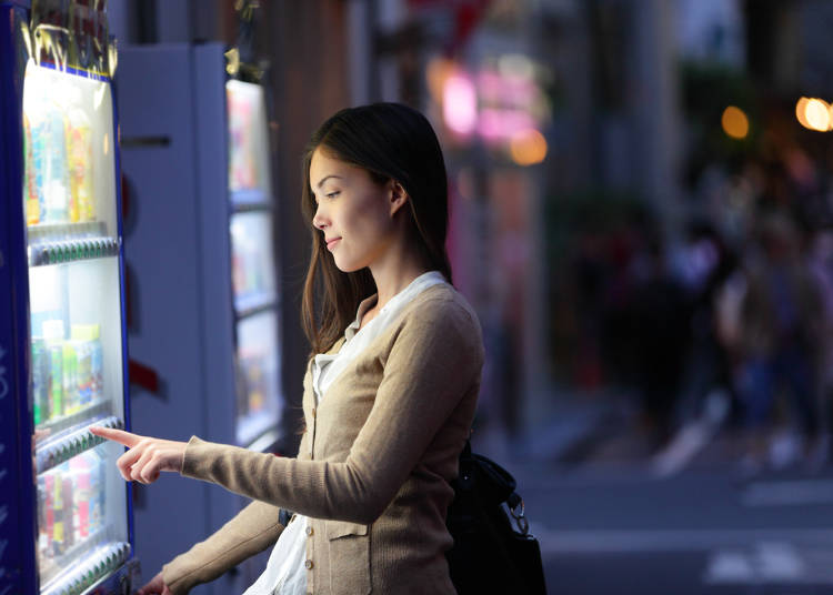 8.自動販売機が多すぎる!日本はやっぱり平和だよね