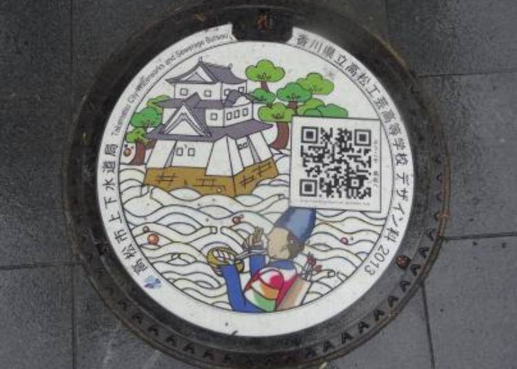 Reason No. 1 – Japanese Manholes as Sightseeing Hot Spots