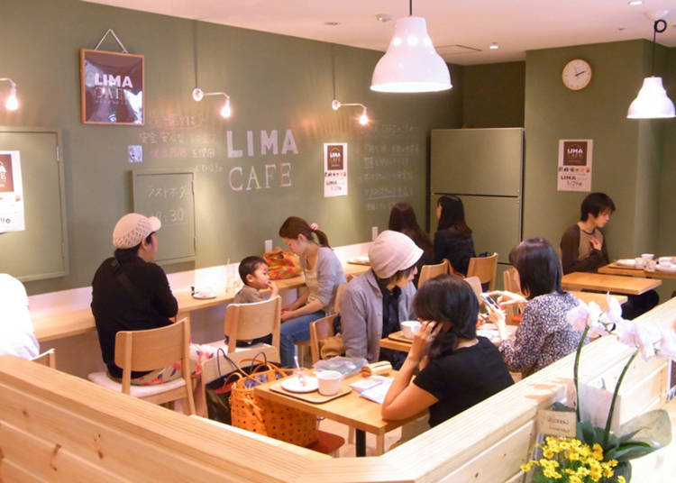 Lima Cafe: Indulge in Macrobiotic Snacks and Sweets, all Vegan!