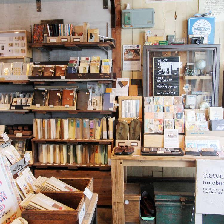 文青必訪!隱身巷弄的文具雜貨特色小店「Traveler's Factory」