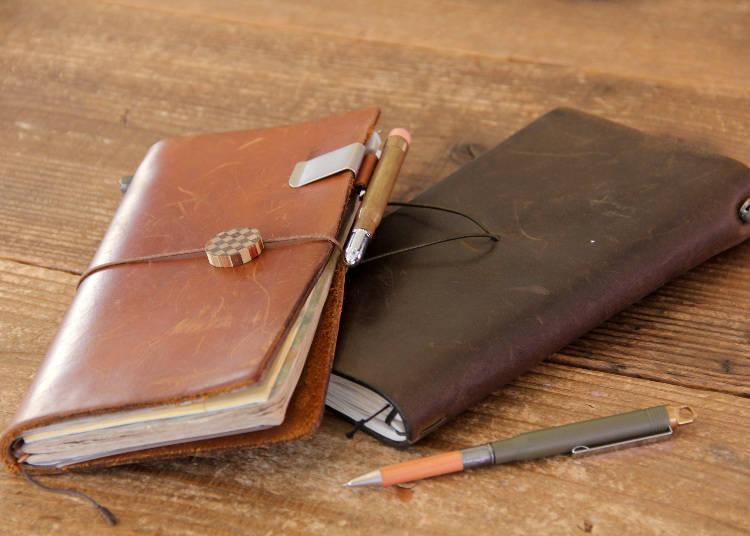 急速风靡全球文青的「Traveler's Notebook」