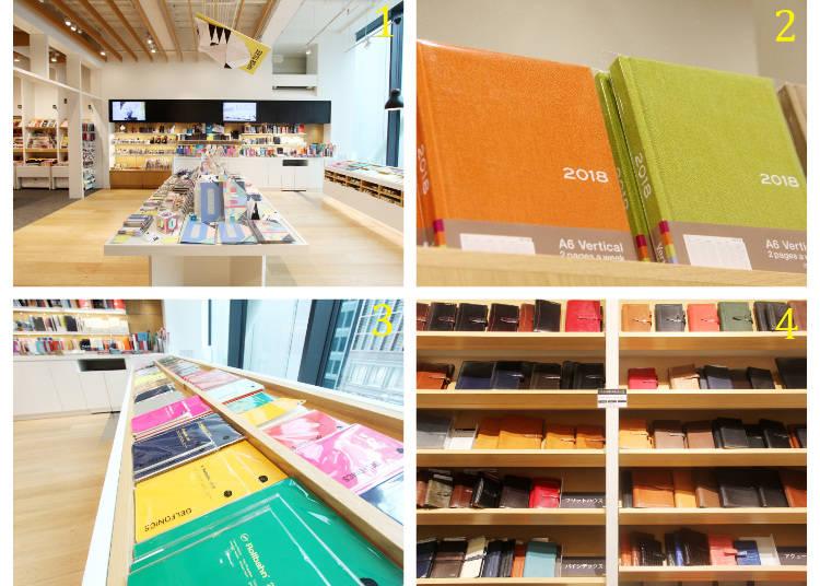 4樓 「SCHEDULE」豐富的行事曆與日記本