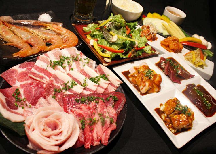 涩谷吃到饱1980日元起!烤肉、寿喜烧、涮涮锅、烤羊肉等平价美味无限供应!