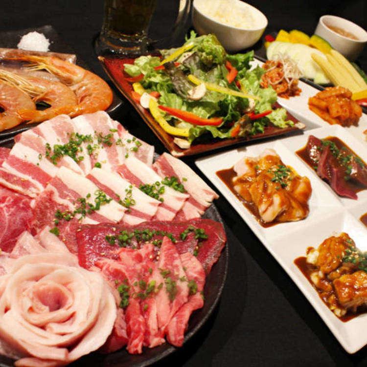 澀谷吃到飽2300日圓起!燒肉、壽喜燒、涮涮鍋、烤羊肉等平價美味無限供應!