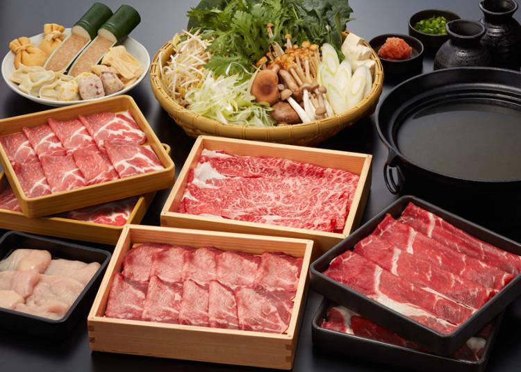 壽喜燒or涮涮鍋二選一吃到飽