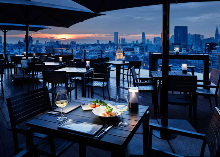 Omotesando S Top 4 Restaurants With The Best Night View Celebrate A