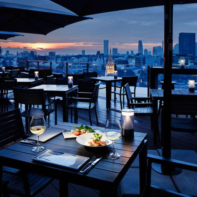 浪漫夜景打造美好夜晚,表參道優雅氣氛餐廳精選