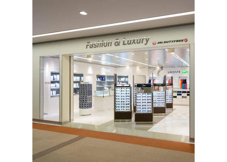 【JAL免税店3】第1ターミナルから出発する人に!「JAL DUTYFREE Fashion & Luxury店」