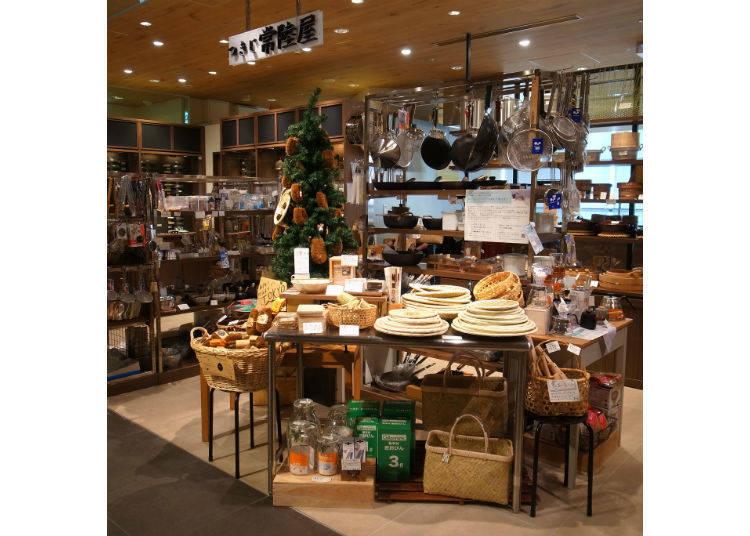 国産の料理道具が手に入る!「つきじ 常陸屋 浅草店」