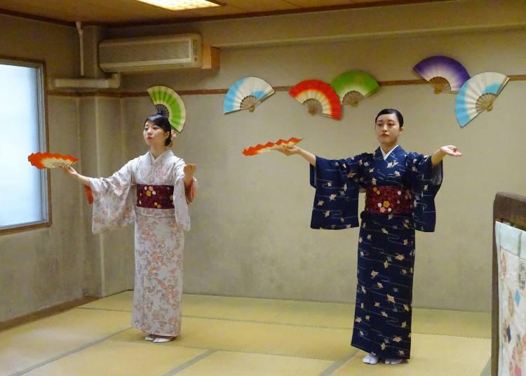 可以体验日本文化的活动多不胜举!/御茶水女子大学
