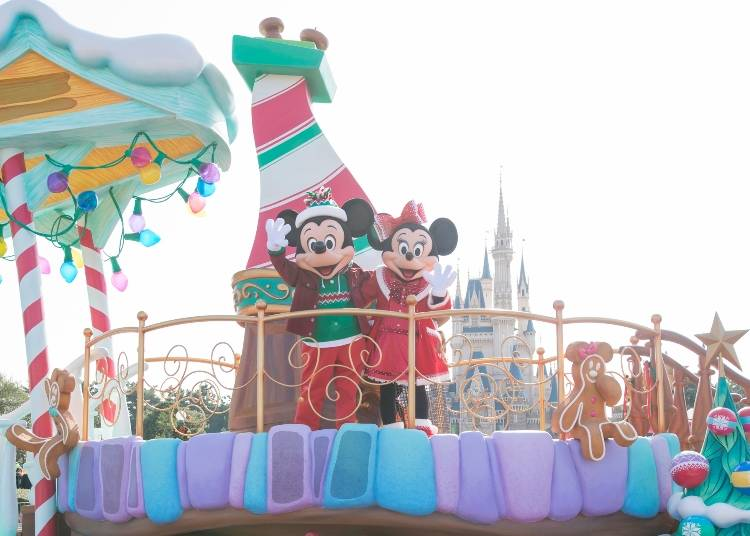 ◆2018年11月8日~12月25日「迪士尼聖誕節」(東京迪士尼樂園&海洋)