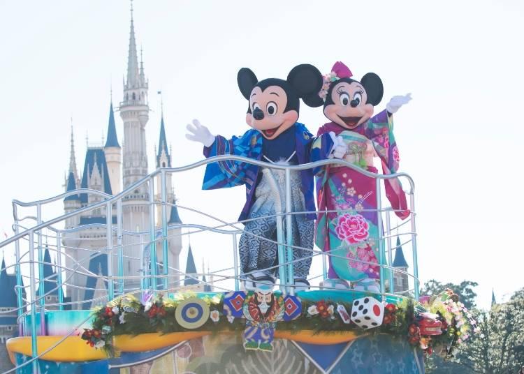 ◆2019年1月1日~1月6日新年特別節目(東京迪士尼樂園&海洋)