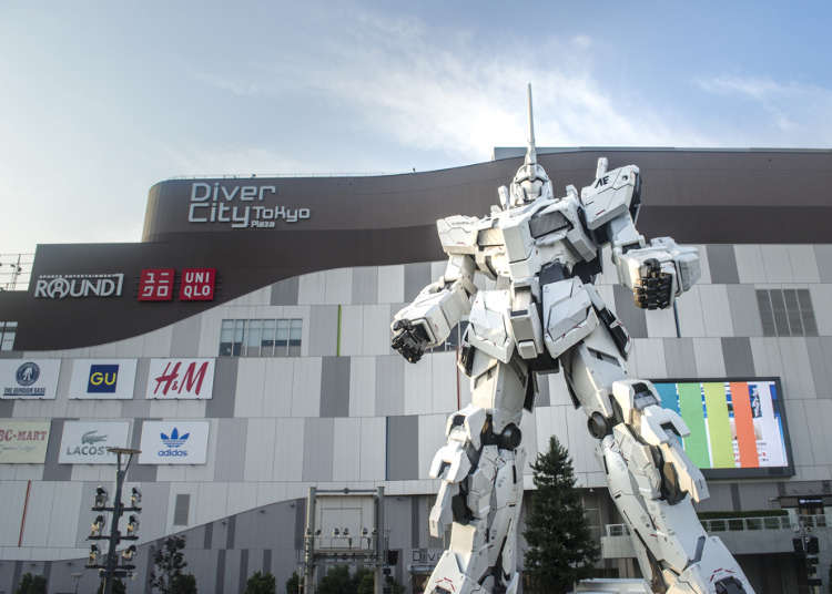 Gundam Celebrates its Biggest Attraction Yet