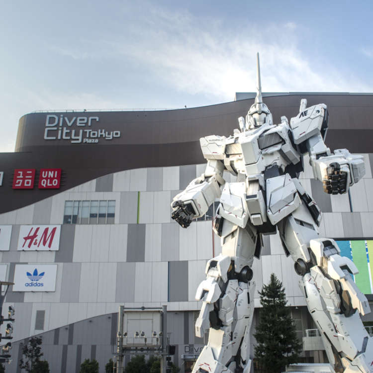 Gundam Celebrates its Biggest Attraction Yet