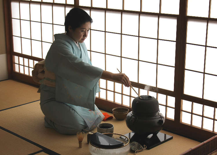As Much Japanese Culture As You Can Handle!  Authentic Tea Ceremony & Taking On Japanese Cooking!