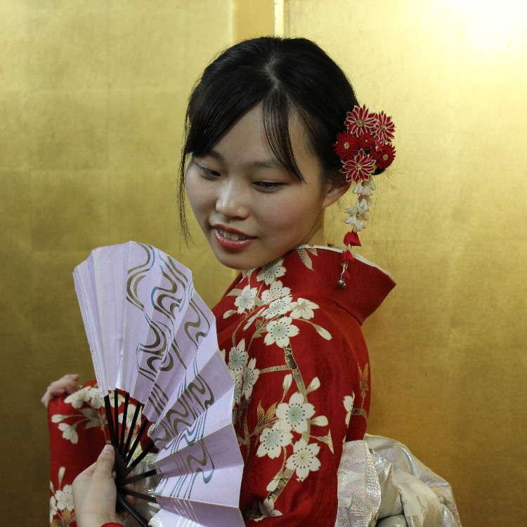 【レポート】最短20分で和服に大変身!浅草で初めての着物体験