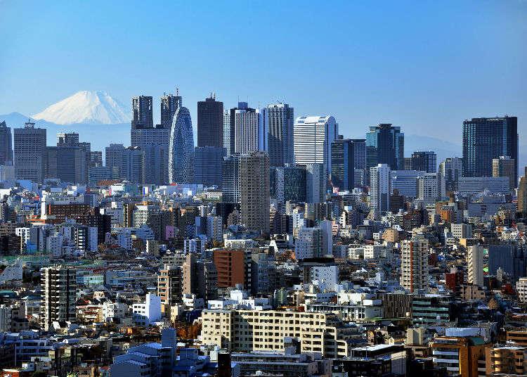 東京の絶景スポットを一日で巡ってみよう