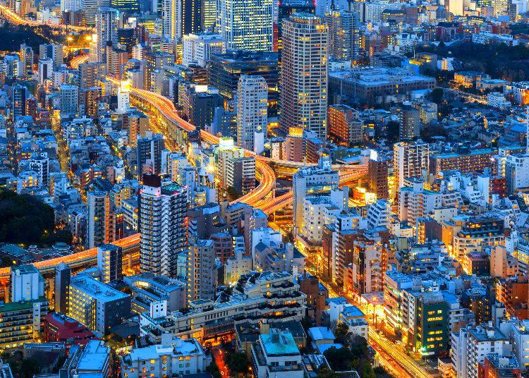 Tokyo City View and Sky Deck at Mori Tower