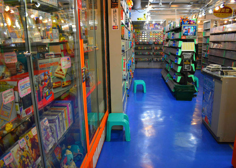 Mandarake s Galaxy on the second floor of the building is completely  overloaded with videogames. They have games and gaming systems from the  80 s 7840b414fbec6