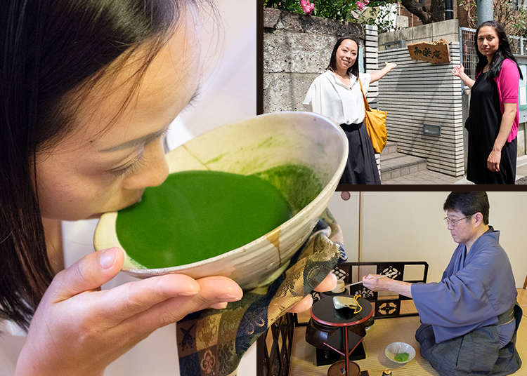 Light or Dark Matcha? Experience a Traditional Japanese Tea Ceremony at Waraku-An in Tokyo