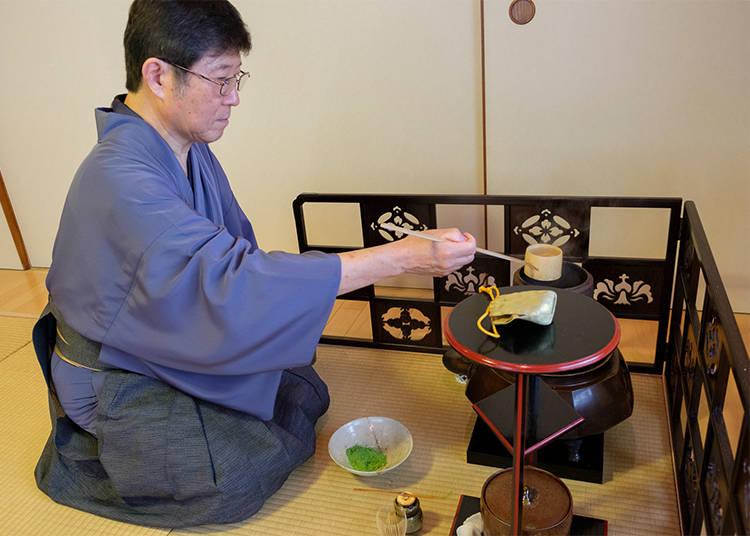 """Delicious, Enjoyable, Beautiful"": the Japanese tea ceremony"